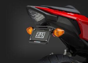 DLYDSS Licence Support De Plaque for Honda CB500F CBR500R 2016-2020 17 18 19 Motorcycle Tail Tidy Fender Eliminator Enregistrement CBR 500 R ZMTCPJ