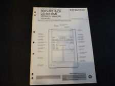 Original Service Manual Kenwood  RXD-M31MD LS-M31 M