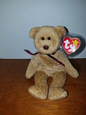Ty Beanie Curly the Bear RARE with Errors