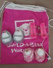 Build A Bear Workshop Teddy Bear Shoes Bundle With Bag