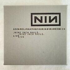 Nine Inch Nails And All That Could Have Been CD Box-Set Complete.  EX condition