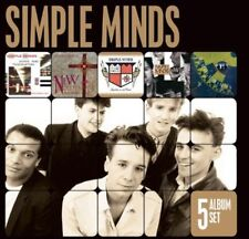 Simple Minds - 5 Album Set [New CD] Holland - Import