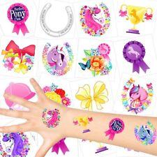 German Trendseller® - Pferde  Kinder Tattoos - Set