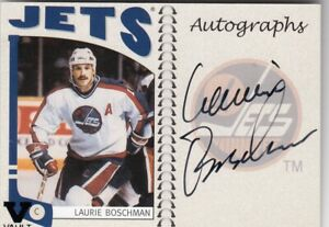LAURIE BOSCHMAN NO:A-LBH AUTOGRAPHS VAULT in IN THE GAME 2005-06