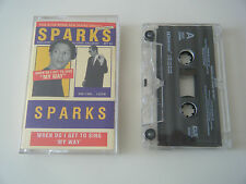 SPARKS WHEN DO I GET TO SING MY WAY CASSETTE TAPE SINGLE LOGIC RECORDS UK 1994