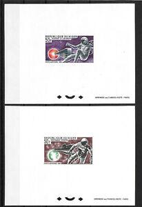 Niger,1966,Space,Leonov,White,deluxe,compl,MNH