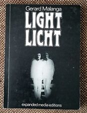 "1973 FLAT SIGNED BY GERARD MALANGA ""Light Licht""- ENGLISH / GERMAN - UDO BREGER"