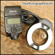 SUPER Macro Ring Flash 4 Canon EOS Digital SLR fit Meike MK-14EXT close ups