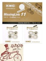 KMC MISSING LINK 11 SPEED BICYCLE SHIMANO-KMC  CHAIN LINKS--PACK OF 2