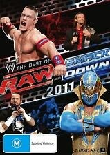 WWE -  Raw / Smackdown - Best Of 2011 (DVD, 2012, 3-Disc Set) New & Sealed