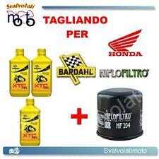 TAGLIANDO FILTRO OLIO + 3LT BARDAHL XTC 10W40 HONDA CBR 600 RR 2003