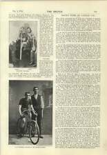 1894 A E Walters Winner Of Anchor Shield Herne Hill 12 Hour Race