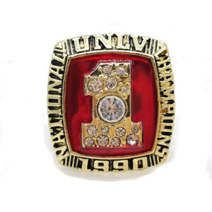 Ring Of Johnson Unlv Runnin' Rebels  Basketball Champion1990