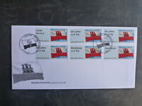 GIBRALTAR 2015 POST n GO SET 6 STAMPS FDC FIRST DAY COVER