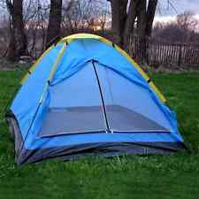 2 PERSON SMALL DOME TENT CAMPING HIKING SHELTER OUTDOOR CAMP GEAR BEACH TENTS