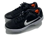 Nike Baseball Cleats Alpha Huarache Elite 2 Low Black AJ6873 001 Size 7 Metal