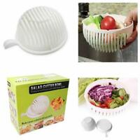 Salad Cutter Bowl 60 Second Easy No Hassel Salad Fresh Tool Slicer Fruit Washer