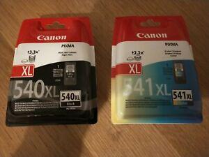 Canon PG540XL Black & CL541XL Colour Ink Cartridge For PIXMA MG3250 Printer