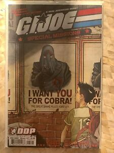 G I JOE : SPECIAL MISSIONS : THE ENEMY # 1 !! 2007 STORM SHADOW !! SNAKE EYES !!