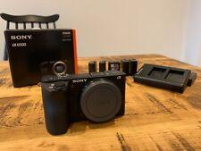 Sony Alpha A6500 24.2MP Digital Camera - Black (Body Only) + 4 spare batteries