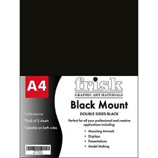 Frisk Mount A4 Double Sided Black Pack of 5