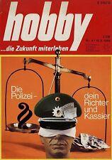 hobby 4/69 1969 Ford Capri Auto Farbfotografie Polizei Gepard Quasar Unipower