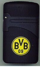 Elektronik FAN Feuerzeug TURBO EASY TORCH BVB Borussia Dortmund Nachfüllbar NEU