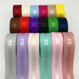 Grosgrain Edge Satin Ribbon Hair Bow Christmas Wedding Decoration Accessory Kit