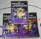 Transformers G1 Reissue cassettes Buzzsaw Laserbeak Frenzy Rumble Ravage Ratbat