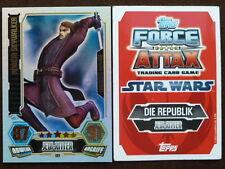 Force Attax Clone Wars 3 (2012, rot), Anakin Skywalker (LE1), Limitierte Auflage