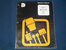 DRESSER D240 D359 D505 N T TA ENGINE OPERATION & MAINTENANCE BOOK MANUAL