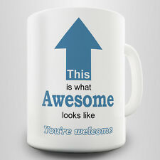 Awesome Novelty Gift Mug - Humorous way to show who's best