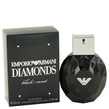 Emporio Armani Diamonds Black Carat 50ml/ 1.7oz EDP Sealed Box Womens Perfume