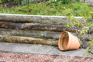 Pallet of 63 x Rustic Railway Garden Sleepers 1.8m x 150mm x 100mm, Cheap