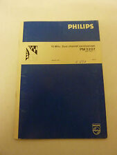 Philips Oszilloskop PM 3207 Manual  Heft