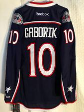 c067bc6ec Reebok Premier NHL Jersey Columbus Blue Jackets Gaborik Navy Sz L