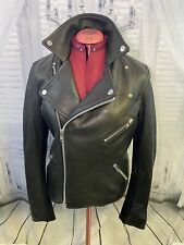 The Arrivals Lautner Leather Jacket Perfecto Moto Size L Biker Chic Over $1300!!