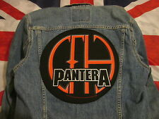PANTERA vCOWBOYS FROM HELL BACKPATCH BACK PATCH  LARGE /