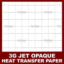 "INKJET TRANSFER PAPER FOR DARK FABRIC: NEENAH ""3G JET OPAQUE""(8.5""X11"") 100 CT:)"