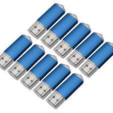 Wholesale LOT 10/20/50/100PCS 1GB USB Flash Pen Drives Rectangle Memory Stick