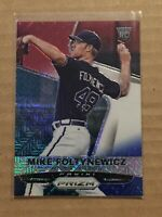 2015 Panini Prizm Mike Foltynewicz Red White And Blue Refractor RC #177 *MINT*