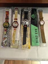 Set of 4 - Jurassic Park (The Lost World) Watches - Burger King 1997