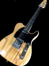 NEW LIGHTWEIGHT 12 STRING TELE STYLE NATURAL ELECTRIC GUITAR STUNNING GRAIN