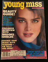 Young Miss Magazine November 1983 Brooke Shields Fashion '80's Advertising Teen