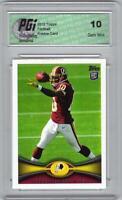 Robert Griffin III Redskins 2012 Topps Football #340 RG3 Rookie Card PGI 10