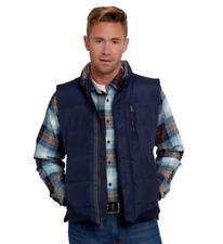 Orvis Men's Down Gillet Vest, Navy Blue, Medium