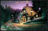 Hillcrest Cottage - Chart Counted Cross Stitch Pattern Needlework Xstitch DIY
