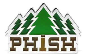 Phish Timber Pin [Metal / Enamel] Memorabilia Emblem Pine Trees Logo