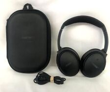 Bose QuietComfort 25 QC25 Headband Headphones for Apple - Triple Black 13-2A
