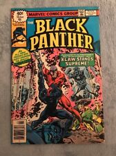 BLACK PANTHER #15 FINAL ISSUE OF THE SERIES!!